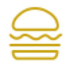 Burgers served<br>annually