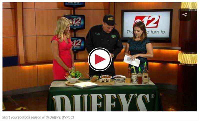 Start your football season with Duffy's