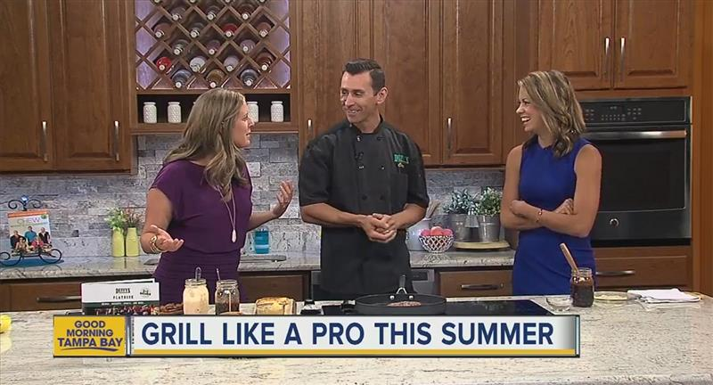 Duffy's Sports Grill chef offers tips on how to grill like a pro this summer