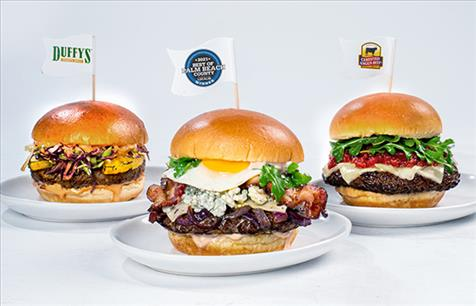 Try Our New Burger Blitz Lineup