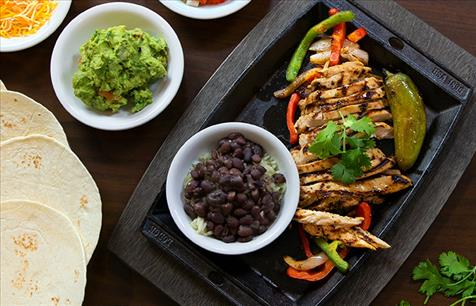 Feast on our NEW Fajitas