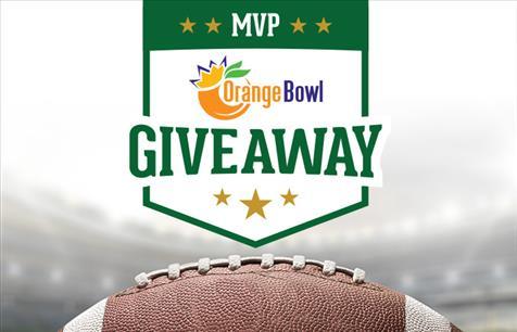 MVP Orange Bowl Giveaway