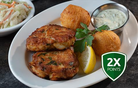 Try Our New Jumbo Lump Crab Cakes